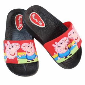 Peppa Pig Kids Slipper Black
