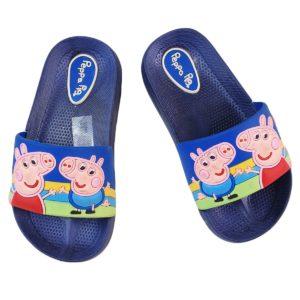 Peppa Pig Kids Slipper Blue Black