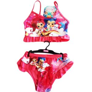 Shimmer Shine Swimsuit Pink Nickelodeon