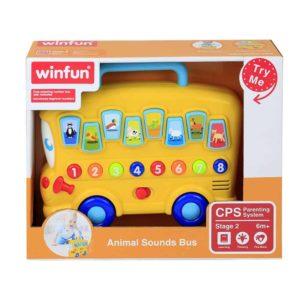 Win Fun Animal Sound Bus