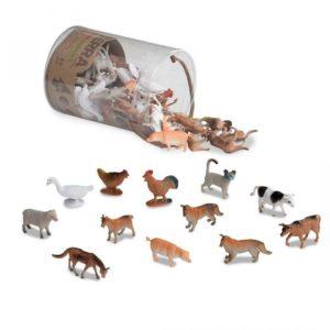 by Battat - Farm Animals - Assorted Miniature Animal Toy Terra
