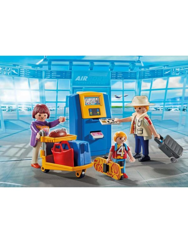 Family At Check-In Building Set Playmobil