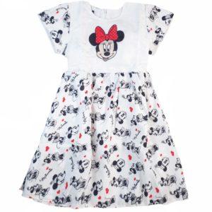 Marz Minnie Mouse Dress White