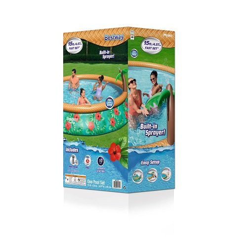 Inflatable Wooded Swimming Pool
