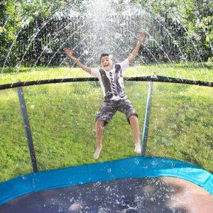 ARTBECK Trampoline Water Sprinkler for Kids 12M