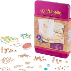 Bracelet Making Kit – 310pc Jewelry Set with Assorted Beads Craftabelle