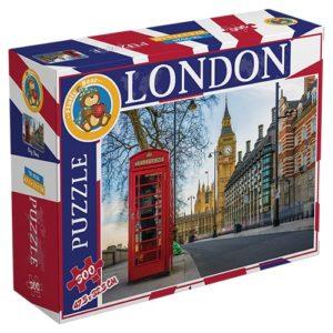 Big Ben London 300 Pieces Fluffy Bear