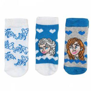 Disney Frozen Socks Blue 3 Pieces
