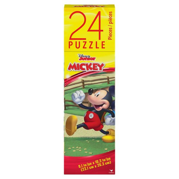 Disney Mickey Mouse Tower Box Puzzle 24 Pcs Spin Master