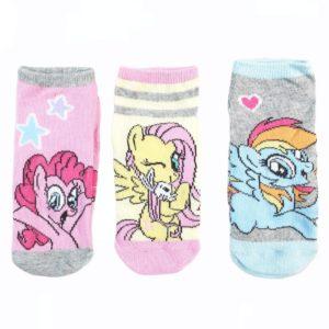 Disney Pony Socks Pink 3 Pieces