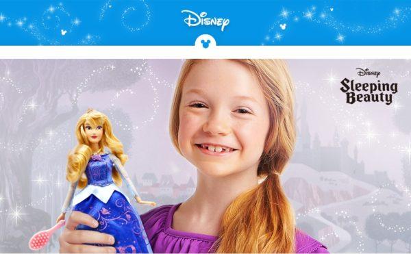 Disney Store Aurora Premium Doll with Light-Up Dress-4