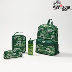 Giggle By Backpack Green Smiggle
