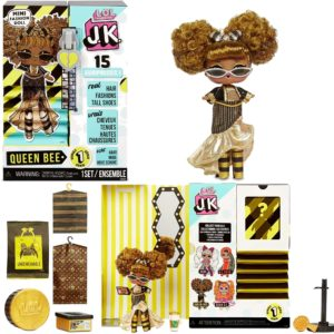 L.O.L. Surprise! JK Queen Bee Mini Fashion Doll