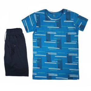 Lezard Number Pajama petroleum