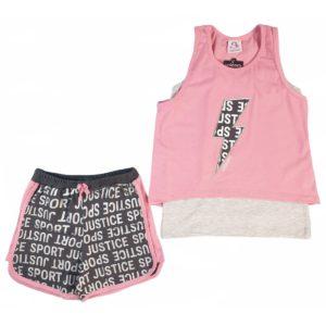 Unicorn Sport Pajama Pink