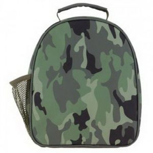 Stephen Joseph All Over Print Lunch bag Army