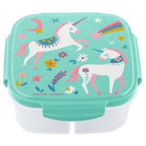 Stephen Joseph Lunch Box With Ice Pack Unicorn