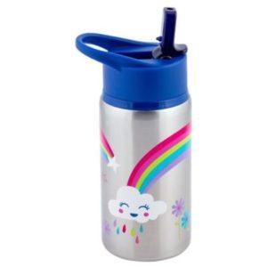 Stephen Joseph Stainless Steel Water Bottles Rainbow