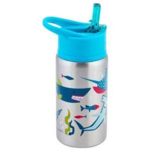 Stephen Joseph Stainless Steel Water Bottles Shark