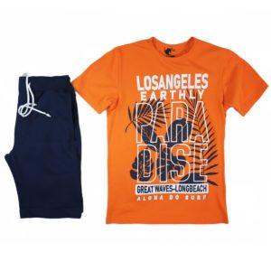 Unicorn Losangeles Pajama Orange