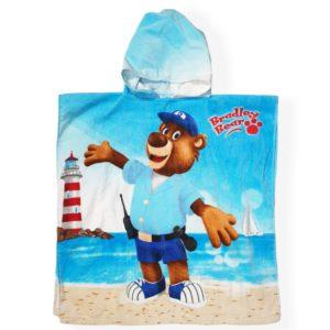 Bear poncho Blue EL Magd
