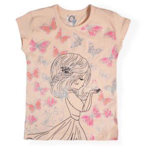 IQ Butterflies Girl Shirt Simon