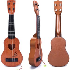 YEZI - Musical Instrument for Classic Ukulele, Brown Color