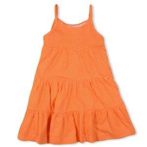 Happy Kids Dress Orange