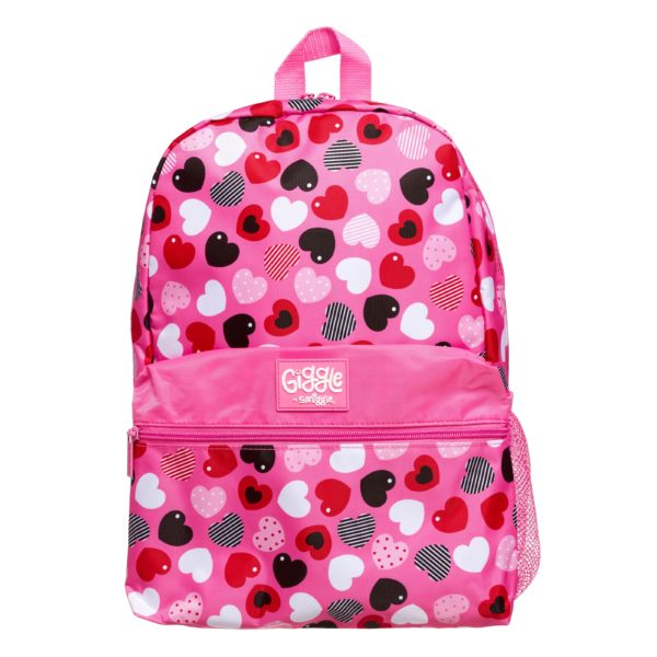 Giggle By Backpack Pink Smiggle