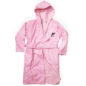 Swim Parka Pink Orca
