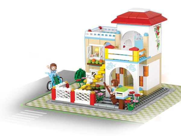 Girls Dream Construction - Loving Lar 380 Pieces Sluban