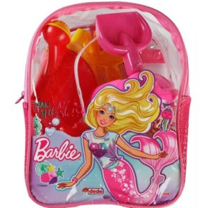 Barbie Beachset With Backpack Multi color (6 PCS) Dede