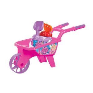Barbie Wheel Barrow Beach Set Dede