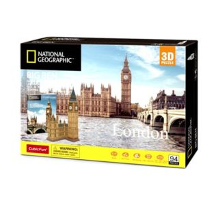 Big Ben London 3D Puzzle 94 Pieces by Cubic Fun