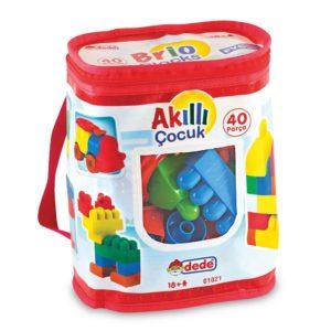 Blocks 40 Pcs Lego Set 100% domestic production Dede