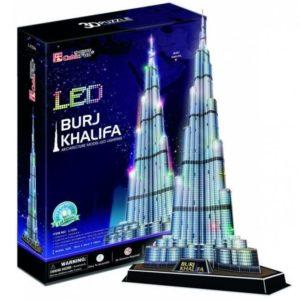 Burj Khalifa Puzzle 136 Pieces Cubic Fun