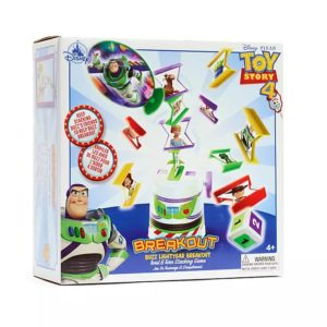 Buzz Lightyear Breakout Stacking Game Disney Store