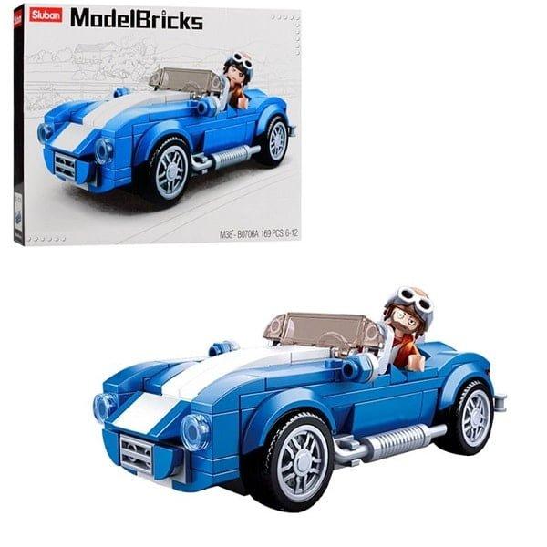 Constructor Model Bricks - F40 Car Sluban