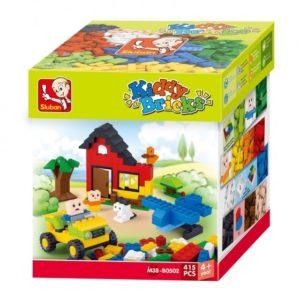 Costruzioni Kiddy Bricks Basic Seriesuilding Bricks 415 pcs Sluban