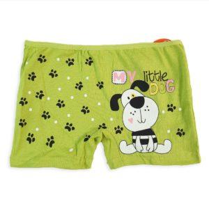 DOMI Dog Girls' Hot Shorts Green