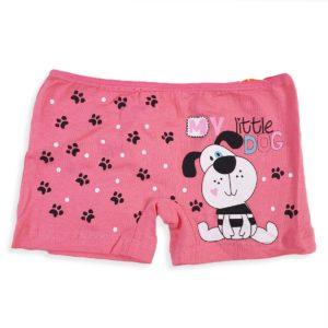 DOMI Dog Girls' Hot Shorts Pink