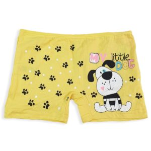 DOMI Dog Girls' Hot Shorts Yellow