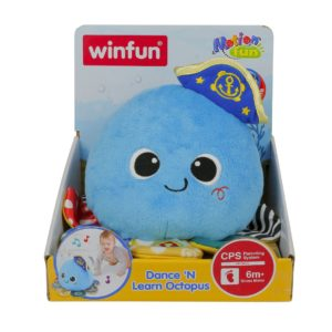 Dance 'N Learn Octopus Winfun