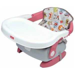 Deluxe Fold and Go Booster Seat - Animal Paradise Winfun
