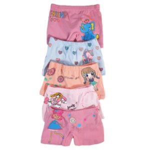 Disney Girls' boxer Short Packet