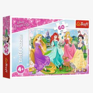 Disney Princess Puzzle 60 pieces Trefl
