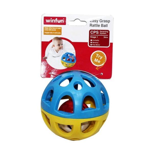 Easy Grasp Rattle Ball Winfun