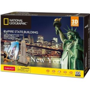 Empire State Building NG Puzzle 3D Cubic fun