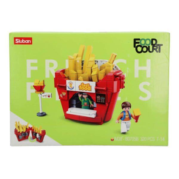 Food Court-French Fries House(320pcs) Sluban