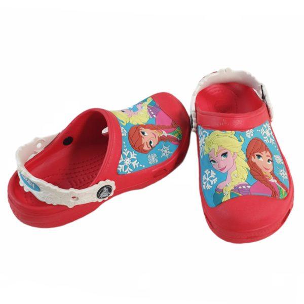 Frozen Crocs Red